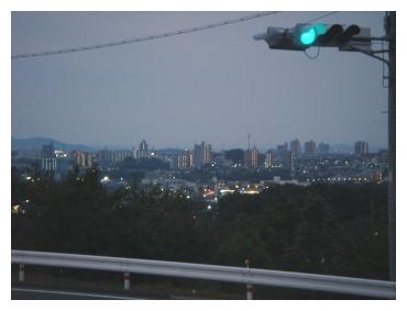 岡崎市民病院 景色