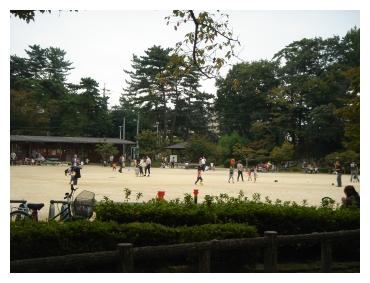 岡崎 東公園 広場