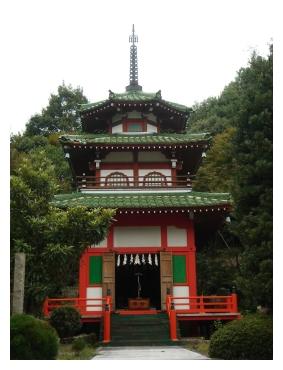 岡崎 東公園 塔