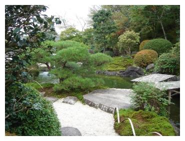 奥殿陣屋 庭園