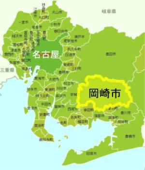 岡崎市地図