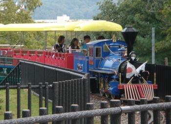 岡崎 南公園 子供汽車