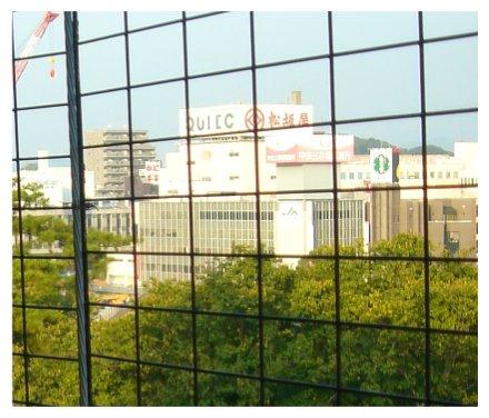 岡崎城からの景色