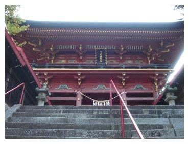 六所神社 楼門