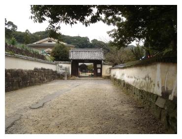 信光明寺 門